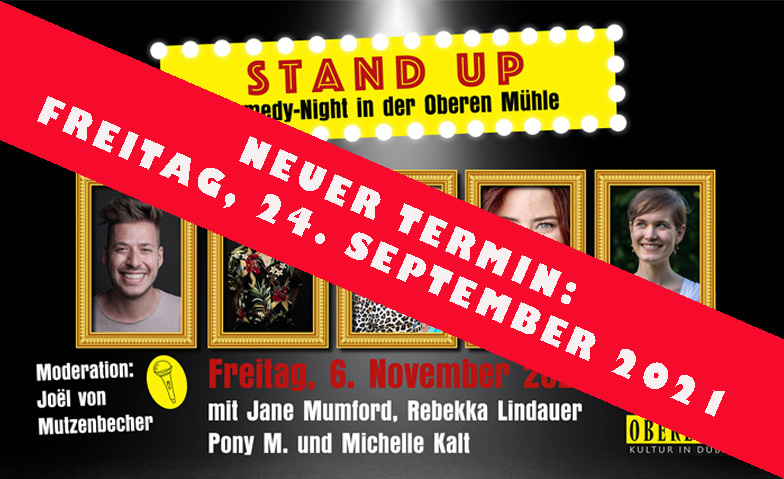 Stand Up - Comedy Night in der Oberen Mühle